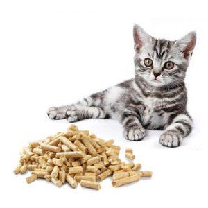 Пеллеты - кошачий наполнитель